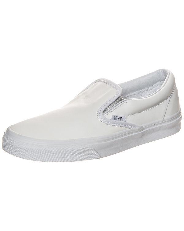 Vans Classic Slip-On Metallic Gore Sneaker weiß