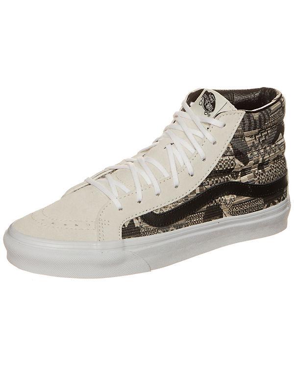 Vans Sk8-Hi Slim Italian Weave Sneaker beige-kombi