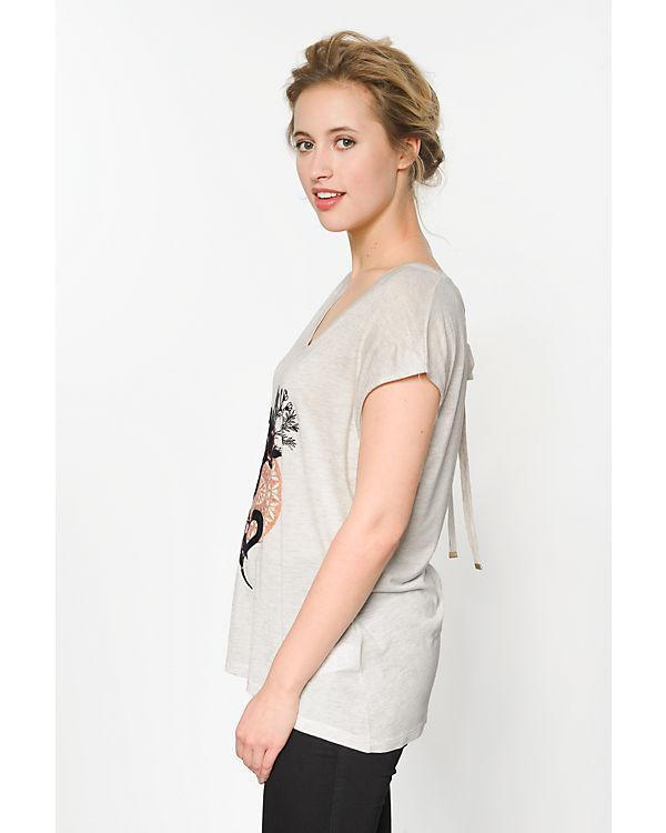 Desigual T-Shirt beige