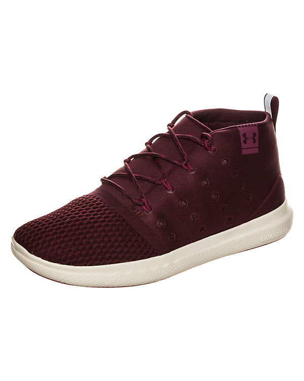 Under Armour Charged 24/7 Mid Sneaker Damen rot