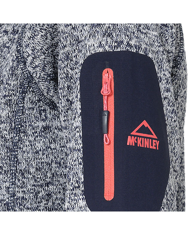 McKinley Strickfleecejacke Skeena dunkelblau