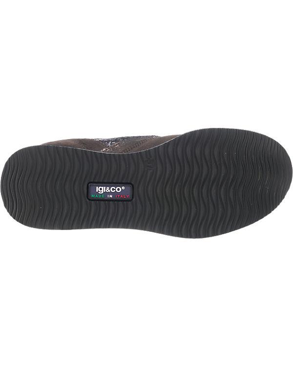 IGI & CO Sneakers grau-kombi