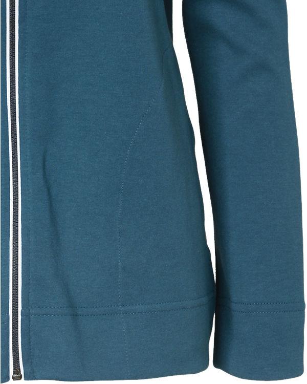 NIKE Sweatjacke AV15 blau/weiß