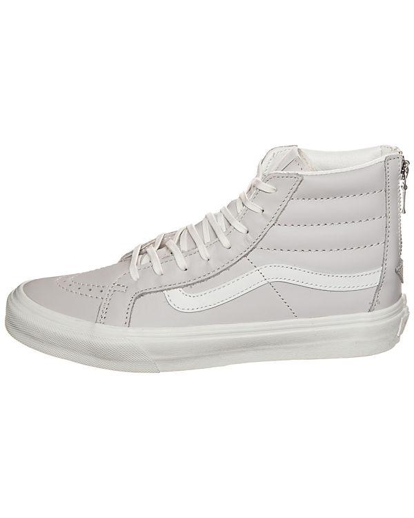 Vans Sk8-Hi Slim Zip Sneaker hellgrau