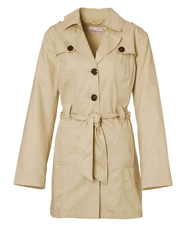 sheego Trenchcoat beige