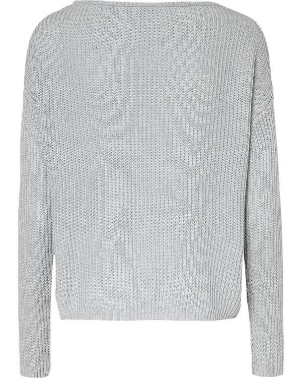 REVIEW Pullover hellgrau