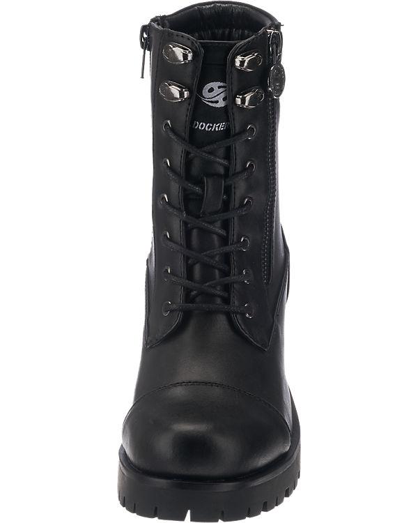 Dockers by Gerli 37CE211-610100 Stiefeletten schwarz