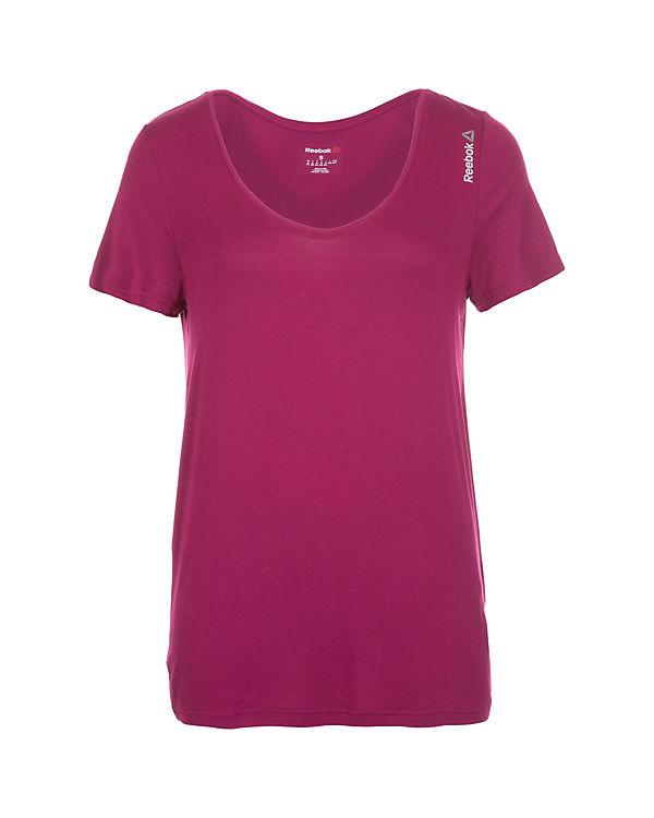 Reebok Trainingsshirt Studio Favorites pink