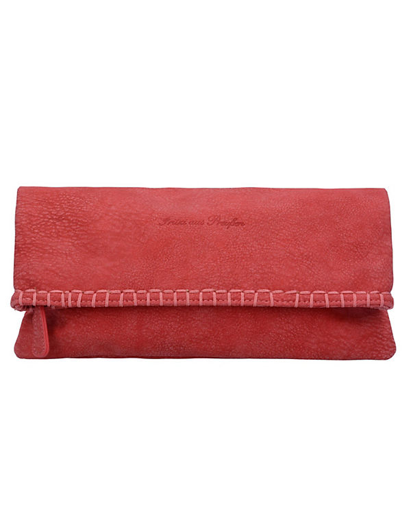 Fritzi aus Preußen Ronja Stit Kuba Clutch Tasche 29 cm rot