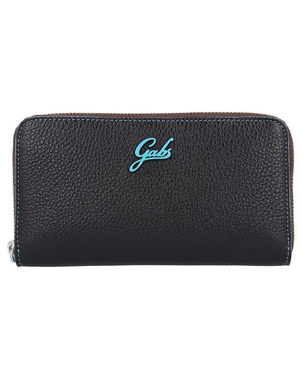 Gabs GMoney Geldbörse Leder 19 cm schwarz