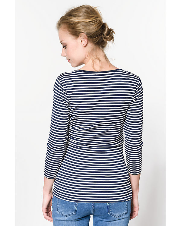 ESPRIT for mums Stillshirt dunkelblau