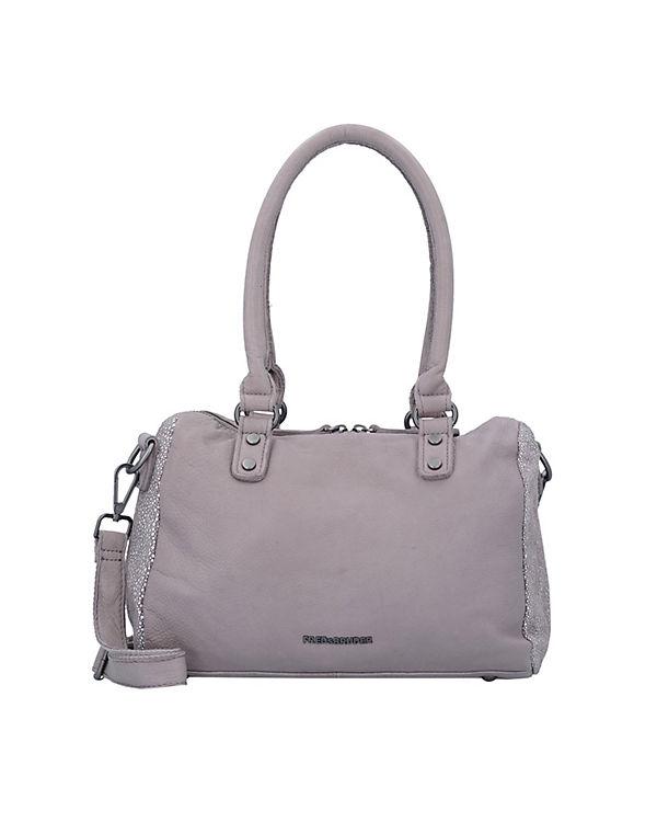 FREDsBRUDER Sugge-Sting Handtasche Leder 26 cm rosa