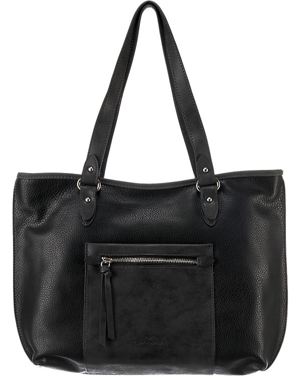 TOM TAILOR TOM TAILOR Miria Shopper schwarz