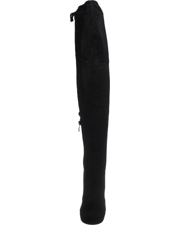 BUFFALO Stiefel schwarz