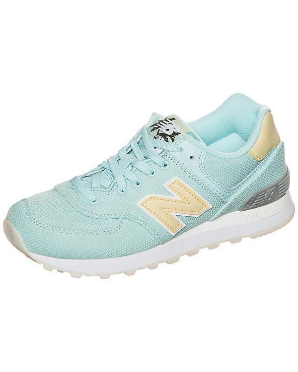 New Balance WL574-MIC-B Sneaker Damen hellblau