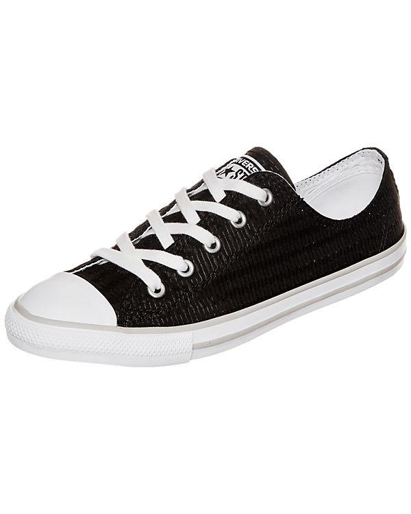 Converse Chuck Taylor All Star Dainty OX Sneaker Damen schwarz-kombi