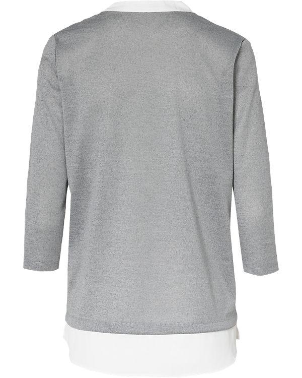 fransa Pullover grau