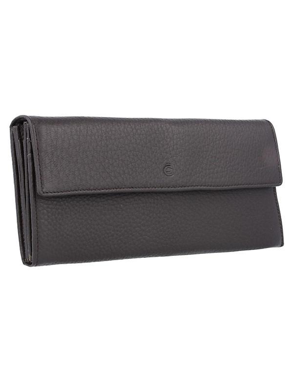 Esquire Esquire Deer Geldbörse Leder 18,5 cm braun