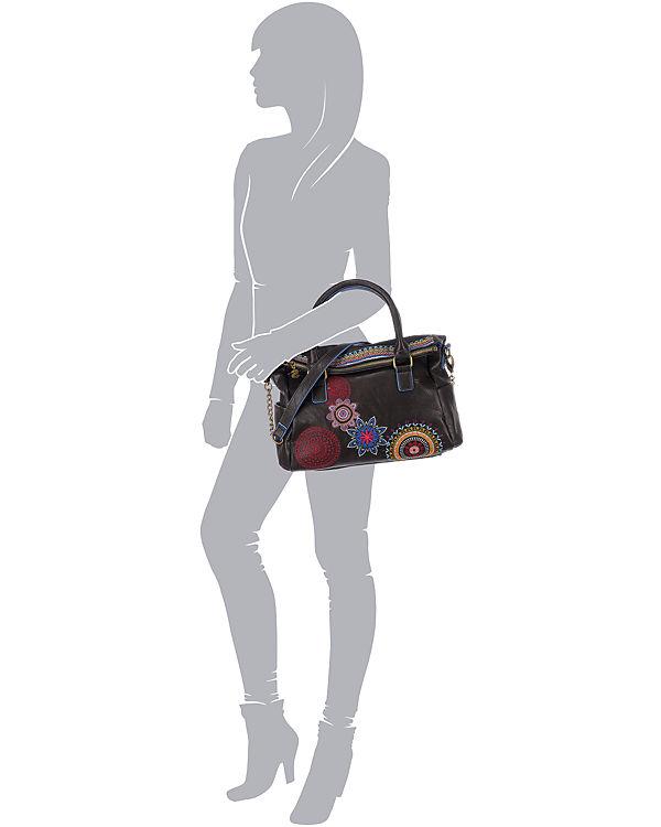 Desigual Desigual Loverty Handtasche dunkelbraun