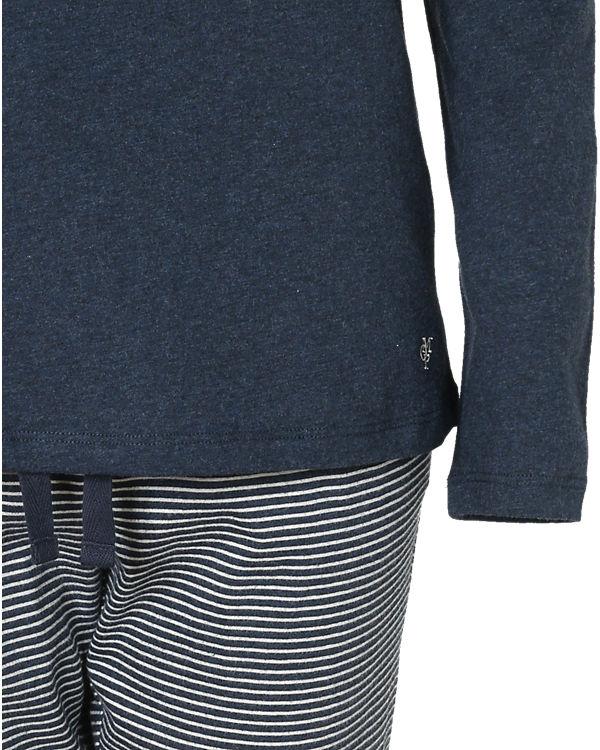 Marc O'Polo Body & Beach Schlafanzug dunkelblau