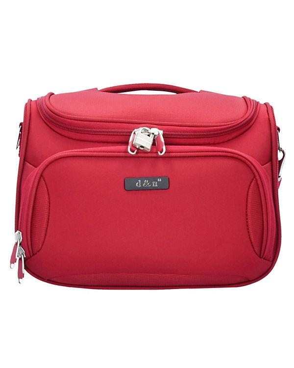 D&N D&N Travel Line 6400 Beautycase 33 cm rot