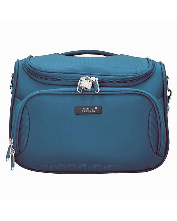 D&N D&N Travel Line 6400 Beautycase 33 cm blau
