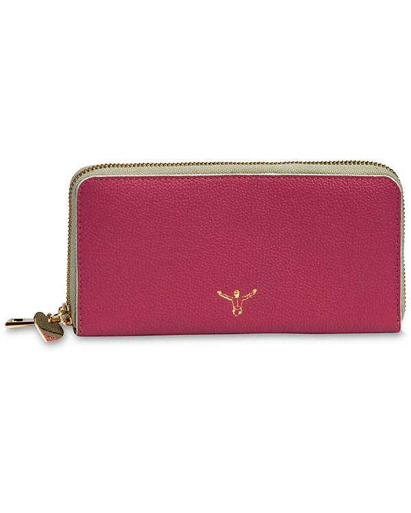 CHIEMSEE CHIEMSEE Chiemsee Golden Jumper Geldbörse Leder 18 cm pink