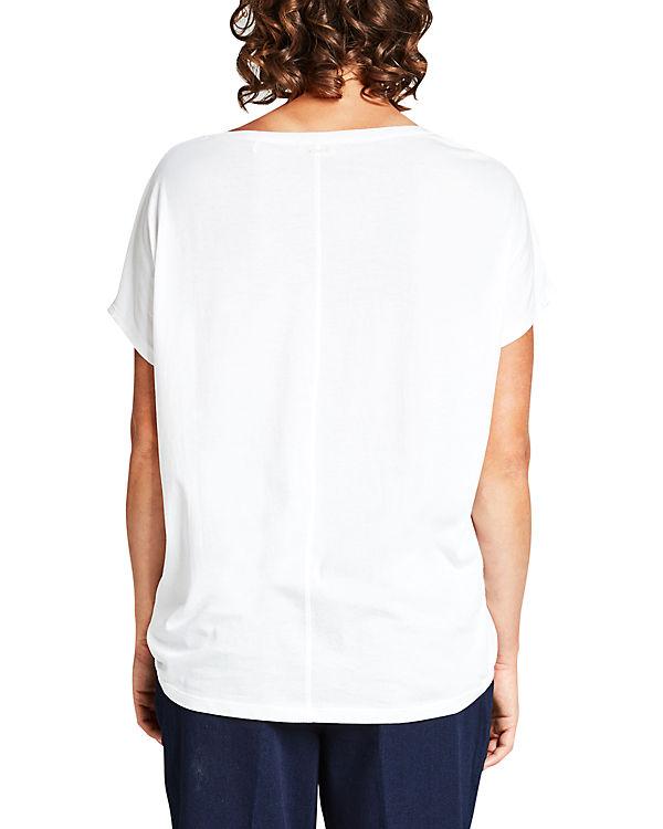 TRIANGLE T-Shirt weiß