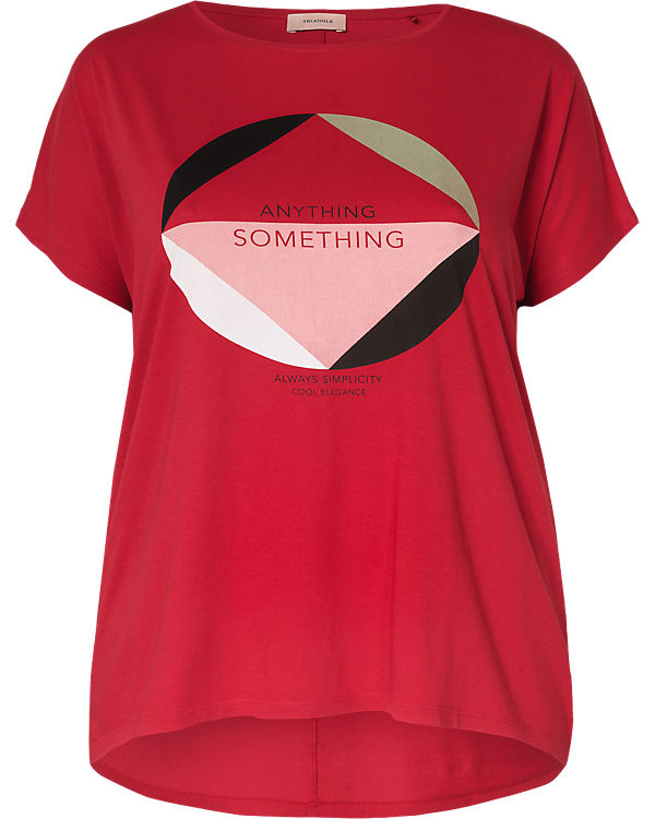 TRIANGLE T-Shirt rot