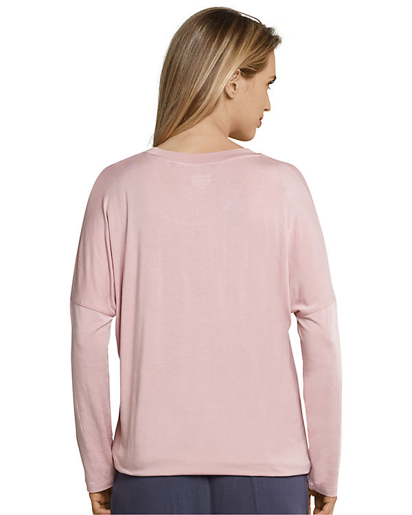 SCHIESSER Schlafshirt rosa