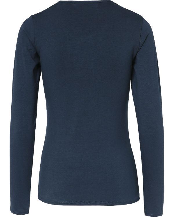 EMOI Langarmshirt blau