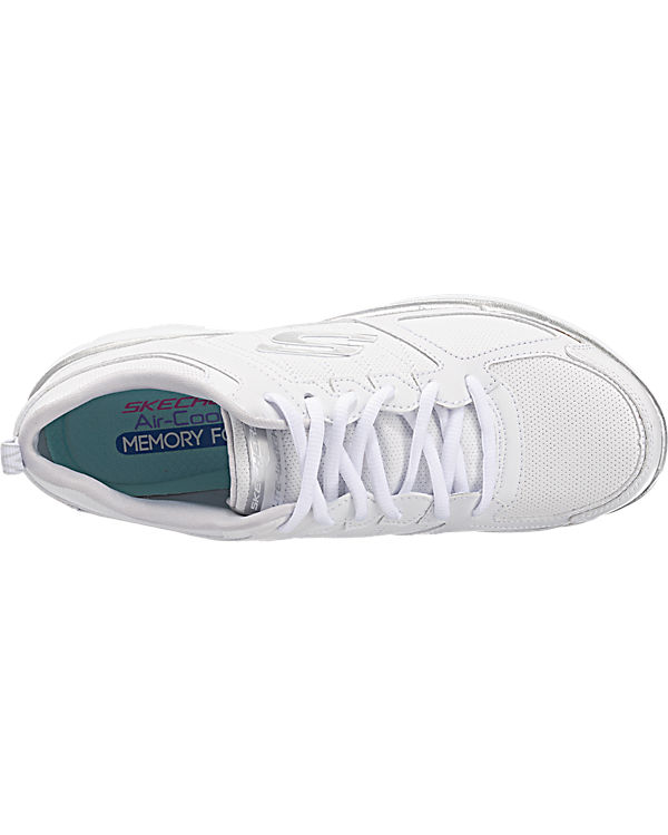 SKECHERS Flex Appeal 2.0 Good Timing Sneakers weiß