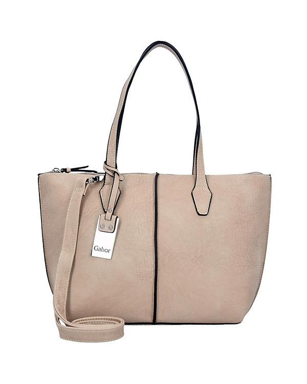 Gabor Gabor Arezzo Shopper Tasche 35 cm beige