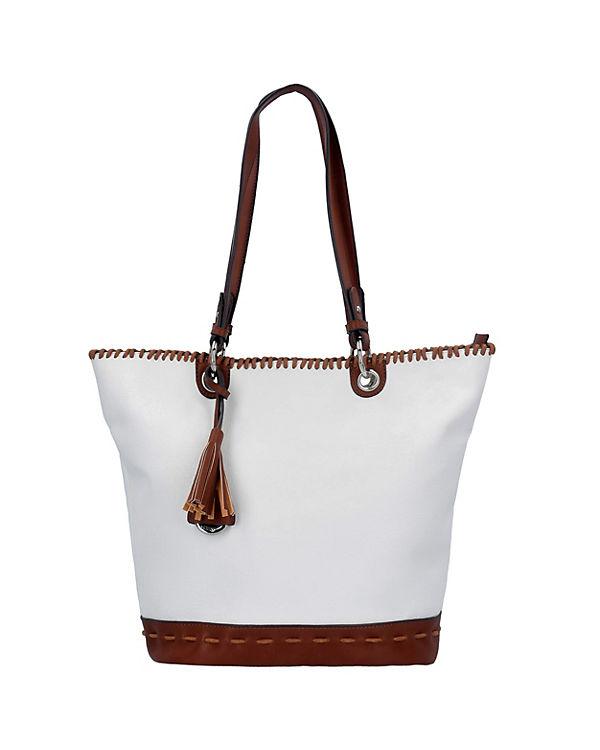 Gabor Gabor Napoli Shopper Tasche 42 cm weiß