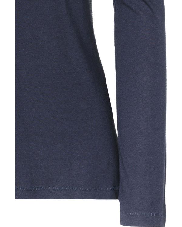 BLUE SEVEN Langarmshirt dunkelblau