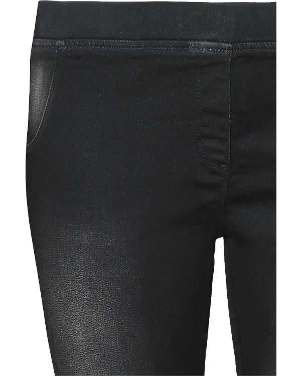 BLUE SEVEN Jeggings schwarz
