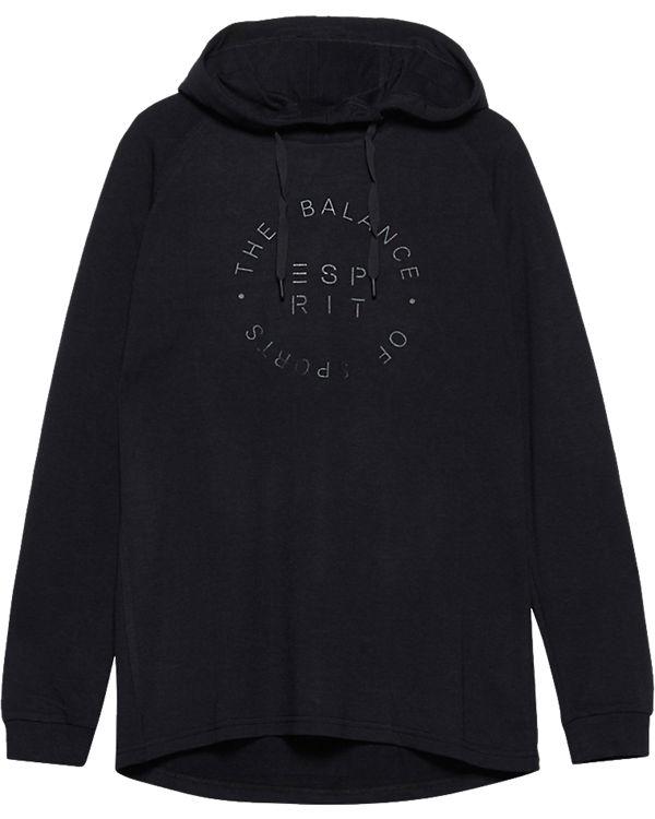ESPRIT Sports Sweatshirt schwarz