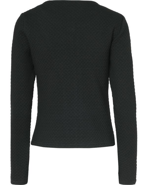 VILA Jacke schwarz