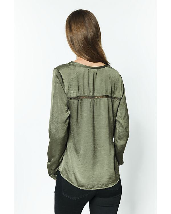 VILA Blusenshirt grün