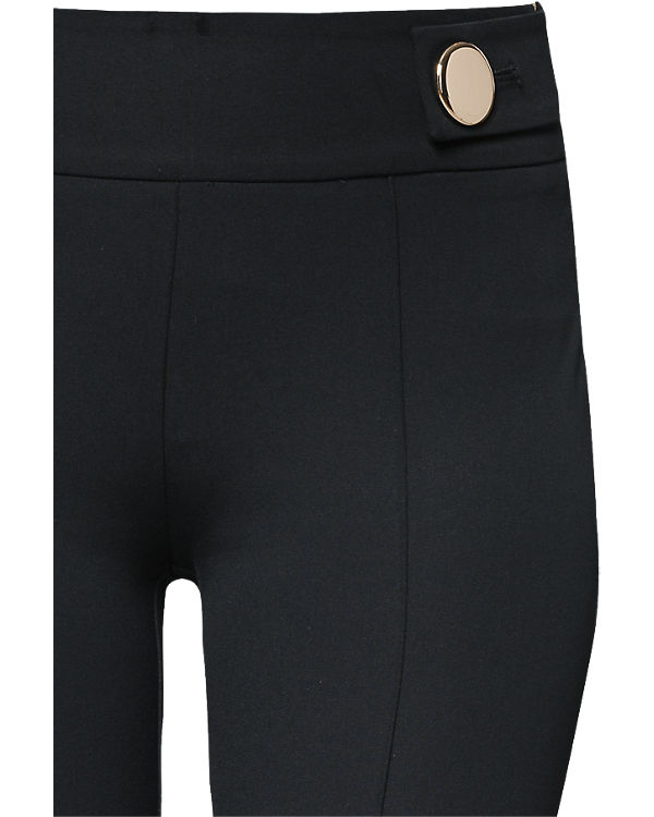 ESPRIT collection Hose Skinny schwarz