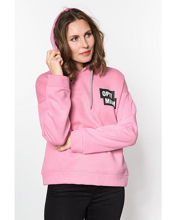 VERO MODA Sweatshirt rosa
