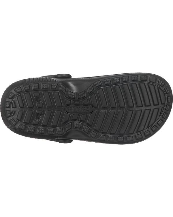 CROCS Classic Lined Graphic Clogs schwarz