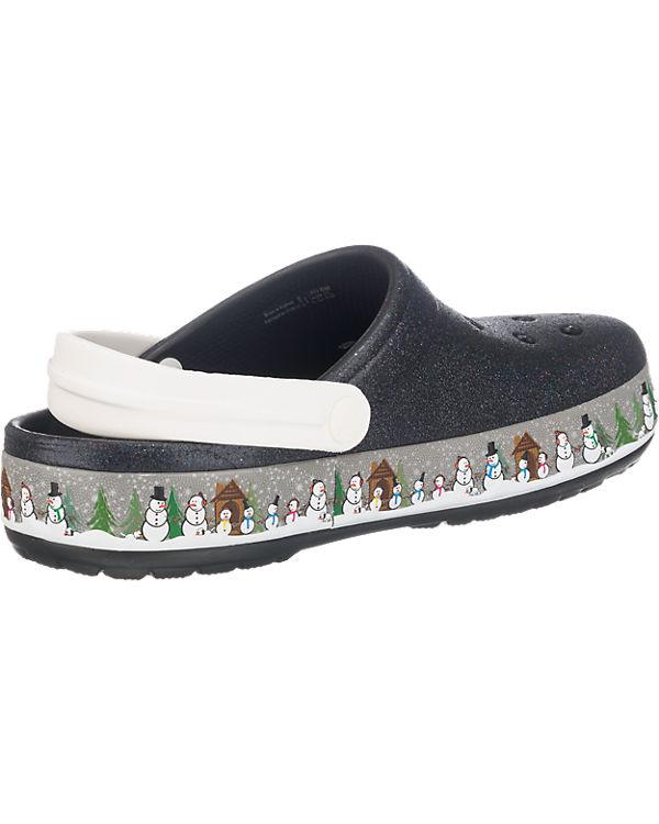 CROCS Crocband Holiday Clogs schwarz