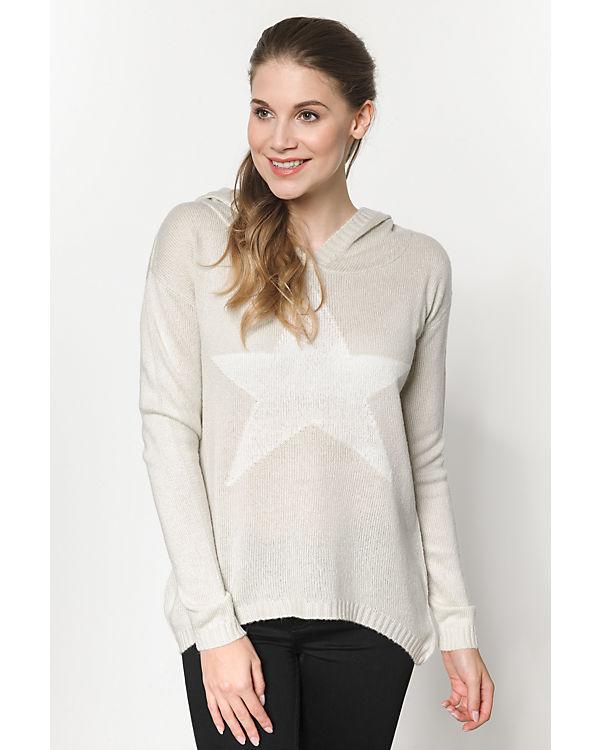 blue Pullover beige