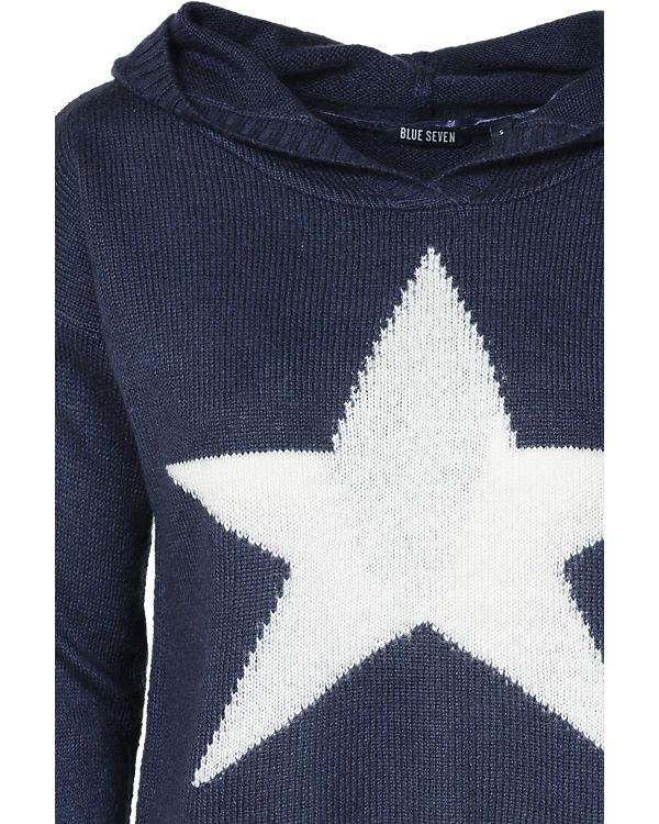 blue Pullover dunkelblau