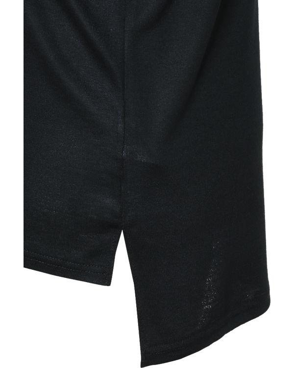 JUNAROSE Pullover schwarz