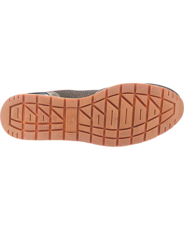 TOM TAILOR Sneakers beige