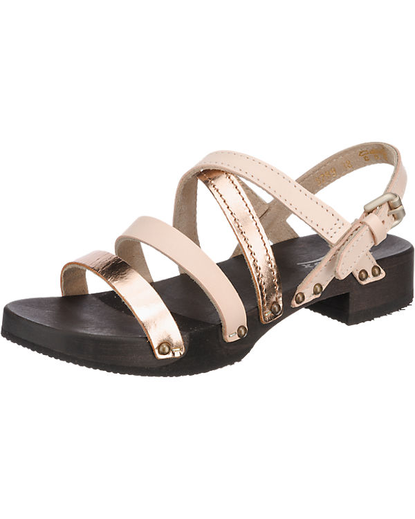 SOFTCLOX Brenda Mexican Nappa Sandaletten beige-kombi