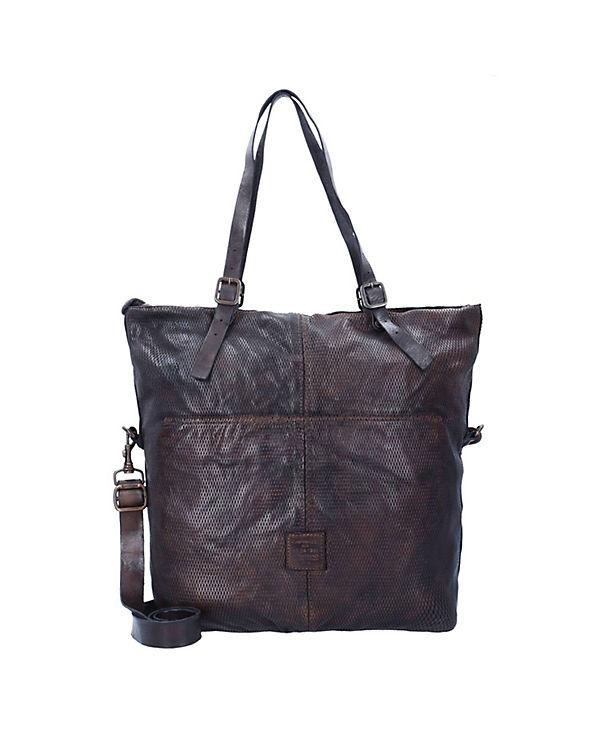 Campomaggi Campomaggi Tarassaco Shopper Tasche Leder 41 cm braun