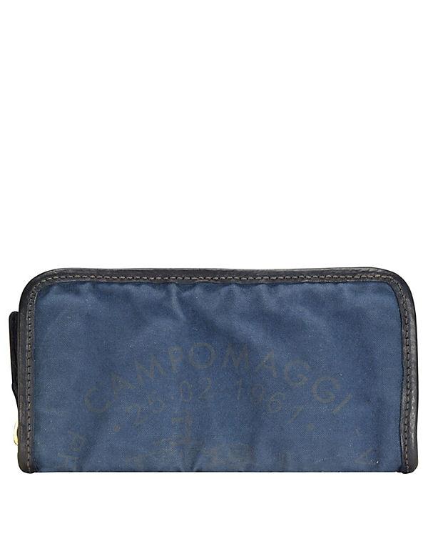 Campomaggi Campomaggi Geldbörse 21 cm blau